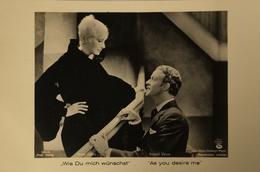 Greta Garbo - Roland Varno (Moviestill) As You Desire Me // Ross Verlag 19?? - Acteurs