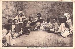 Afrique Algérie> Scènes & Types  ECOLE  INDIGENE (Collection Idéale Alger N°16)* PRIX FIXE - Scènes & Types