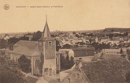 Jodoigne Eglise Saint Lambert Et Panorama - Jodoigne