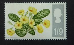 Timbres Neufs** De Grande Bretagne, N°470 Yt,fleurs, Primevère - 1952-.... (Elizabeth II)