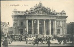 BRUXELLES :  La Bourse    //  Très Belle Animation - Spoorwegen, Stations
