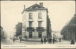 BRUXELLES : Avenue De La Toison D'Or - Spoorwegen, Stations