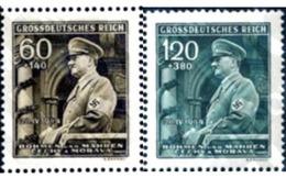 Ref. 205400 * MNH * - BOHEMIA AND MORAVIA. 1944. 55th ANNIVERSARY OF ADOLF HITLER . 55 ANIVERSARIO DE ADOLF HITLER - Bohemia & Moravia