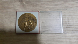 Plaque Boxing Box Leningrad (Saint Petersburg) Federation USSR Russia - Kleding, Souvenirs & Andere