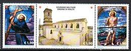 Ordre De Malte SMOM 1209/11 Basilique, Vitrail, Christ - Malte (Ordre De)