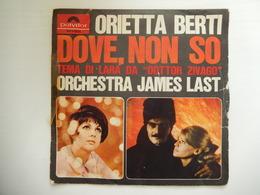 45 Giri - ORIETTA BERTI, Dove, No So - Una Bambola Inutile - 45 G - Maxi-Single