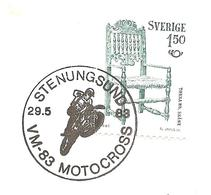 1983  Championnats Du Monde  De Moto-cross: Suède :Stenungsund - Moto