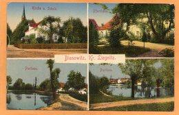 Bienowitz Bei Liegnitz Legnica Poland 1920 Postcard - Pologne
