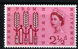 Timbres Neufs** De Grande Bretagne, N°370 Yt, Campagne Mondiale Contre La Faim, épi De Blé - 1952-.... (Elizabeth II)