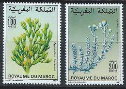 Maroc YT 1031-1032 XX / MNH Fleur Flower Flore Flora - Marruecos (1956-...)