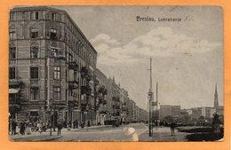 Breslau Wroclaw Lohestrasse Poland 1911 Postcard - Polen