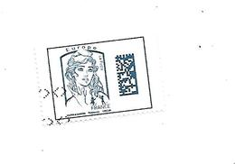Marianne De Ciappa Et Kawena Marianne De Datamatrix 5019 Oblitéré 2016 - 2013-... Marianne De Ciappa-Kawena