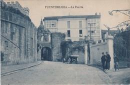 POSTCARD SPAIN ESPAÑA - FUENTERRABIA - LA PUERTA - Guipúzcoa (San Sebastián)