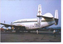 Air France Airlines BREGUET 763 Provence Aereo Avion Aircraft Aviation Aiplane - 1946-....: Ere Moderne