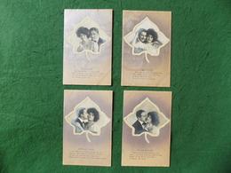 NOVELTY: With Love X4 Textured Silka 1906 Schwerdtfeger UNUSED - Fantasia