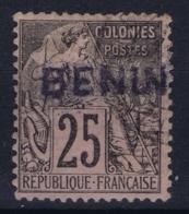 Benin Yv 8  Obl./Gestempelt/used  1892 - Benin (1892-1894)