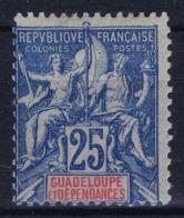 Guadeloupe Yv 43 MH/* Flz/ Charniere - Nuovi