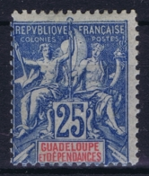 Guadeloupe Yv 43 MH/* Flz/ Charniere - Neufs