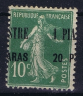 Levant  Yv 31 Surcharge A Cheval  MH/* Flz/ Charniere - Levant (1885-1946)