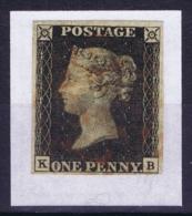 Great Britain  SG 1 Penny Black Very Fine  1840  Obl./Gestempelt/used - Usati
