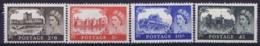Great Britain  SG 536 -539 Postfrisch/neuf Sans Charniere /MNH/**  Mi Nr 279 - 281 - 1952-.... (Elizabeth II)