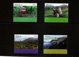 MALAYSIA Tourism Sites Set Of 4 2011 MNH Scott 1341-44 - Malaysia (1964-...)