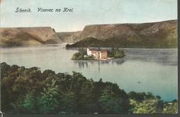 ŠIBENIK VISOVAC NA KRKI, DALMAZIEN, HRVATSKA CROATIA, PC,uncirculated - Kroatien