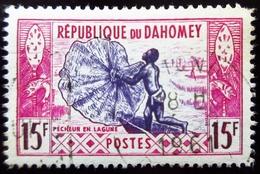 1961 Dahomey Yt 165 Fisherman In The Lagoon . Oblitéré - Benin – Dahomey (1960-...)