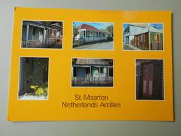 ANTILLES NEERLANDAISES ST. MAARTEN / ST. MARTIN WEST INDIES HOUSES.... - Saint-Martin