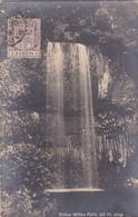 CPA - Australie - Millaa Millaa Falls (60ft. Drop) (timbre Mauritius) - Atherton Tablelands