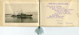MENU Du TORPILLEUR '' TRAMONTANE '' Du 13 Janvier 1940 - - Menus