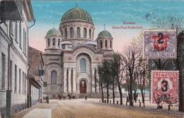 CPA - Lituanie - Kowno - Peter-Paul Kathedrale - 1925 - Lituanie