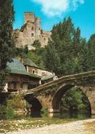 12 Belcastel Environs De Rignac Le Pont Dominé Par Le Château (2 Scans) - Andere Gemeenten