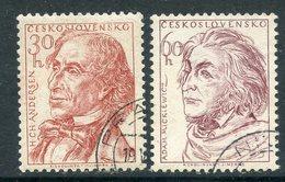 Y85 Czechoslovakia 1955 941+ Famous Writers. Hans Christian Andersen. Adam B. Mickiewicz - Writers