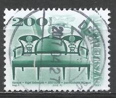 Hungary 2001. Scott #3743 (U) Antique Furniture, Settee By Sebestyen Vogel * - Hongrie