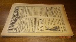 #20618  [Boek - Tijdschrift] De Toerist, Eerste Jaargang, Nummer 17, 15 November 1922 - Tourisme
