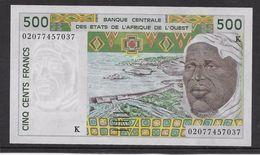 Sénégal - 500 Francs 2002 - Pick N°710Km - Neuf - Sénégal