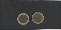 RUSSIA USSR GKCHP 10 Rub Bimetallic Coin 1991 - Russia