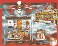 Gambia, 1990, 1284 Block 354 A, Fußball-Weltmeisterschaft 1990.  MNH ** - República De Guinea (1958-...)