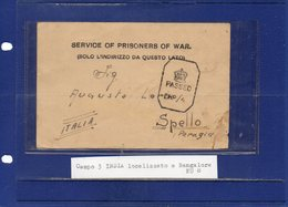 ##(DAN192)-Prigionieri Di Guerra-Prisoners Of War-1942-P.of W. Card From Camp 3 Bombay-India To Spello-Perugia-Italy - 1900-44 Vittorio Emanuele III