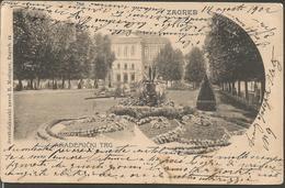 ZAGREB AGRAM, HRVATSKA CROATIA PC, Circulated 1902 - Kroatien