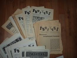Facettes - Du N°1/37 - 1967/1973 - De Nombreux Articles Sur La Numismatique & Philatélie & Curiosités - Literatur & Software