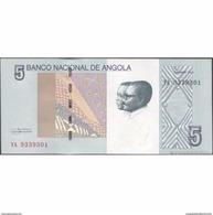 TWN - ANGOLA 151A - 5 Kwanzas 10.2012 Prefix YA - Angola