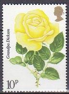 "Timbres Neufs** De Grande Bretagne, N°796 Yt, Fleurs, Rose Jaune ""grandpa Dickson"" - Neufs"