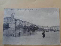 Bastia (Corse) - Place Saint-Nicolas - Au Fond : Hôtel Cyrnos-Palace - Hotels & Restaurants