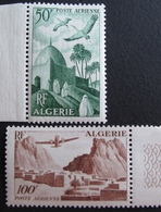 DF50500/181 - 1949 - COLONIES FR. - ALGERIE - POSTE AERIENNE - N°9 à 10 NEUFS** BdF - Algérie (1924-1962)