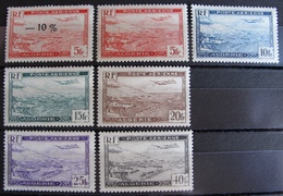 DF50500/183 - 1946 - COLONIES FR. - ALGERIE - POSTE AERIENNE - N°1 à 6 NEUFS** (sauf N°4A) - Algérie (1924-1962)