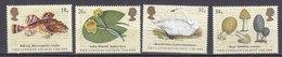 Timbres Neufs** De Grande Bretagne, N°1293-6 Yt, Isociété Linéenne, Cygne, Nénuphar, Morille, Poisson - 1952-.... (Elizabeth II)