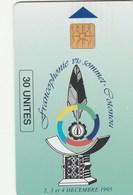 Benin - Francophonie Sommet 30 Un (Reverse: Man Phoning) - Benin