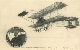 BOURGES AVIATION Octobre 1910 Jullerot Sur Biplan Farman - Reuniones